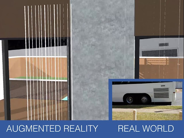 AR HOUSE   AR World Vs Real World