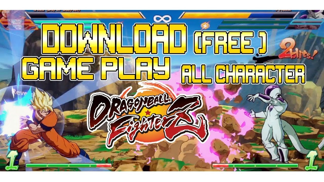 DRAGONBALL FighterZ DOWNLOAD (2Go) + GAME PLAY + SELECT CHARACTER