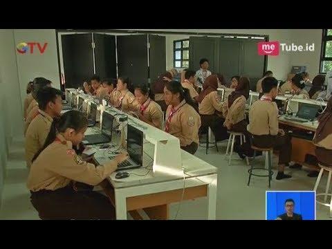 Pelaksanaan UNBK Hari Ketiga Di SMPN 8 Jakarta Berjalan Lancar Tanpa Kendala - BIS 25/04