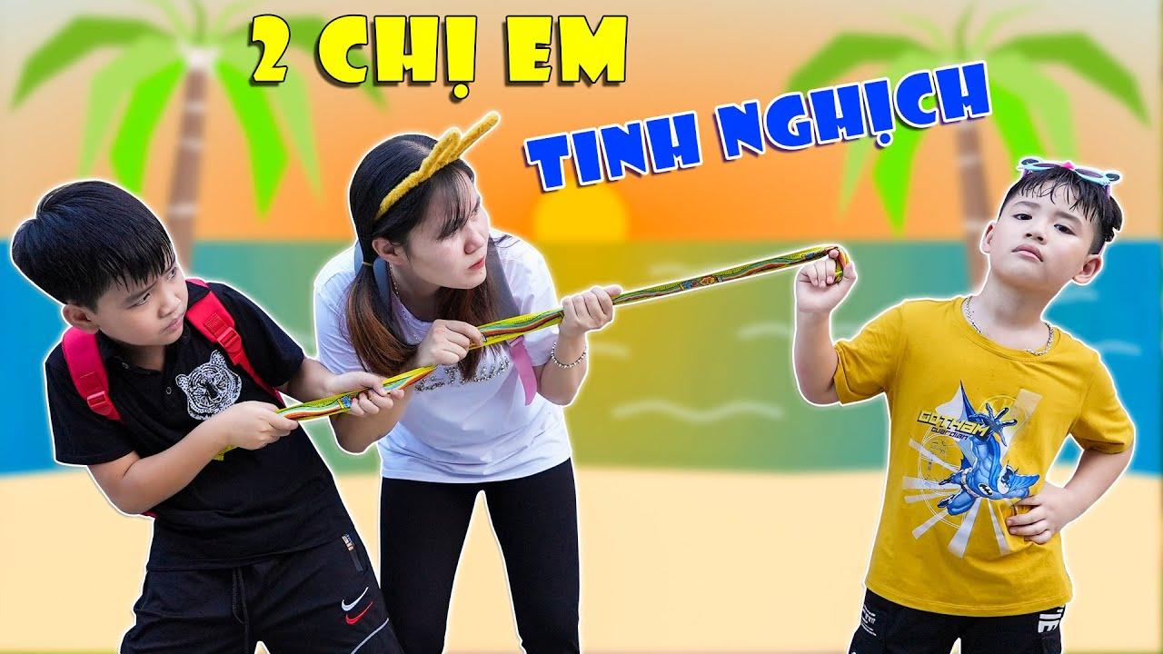 2 Chị Em Tinh Nghịch ♥ Minh Khoa TV