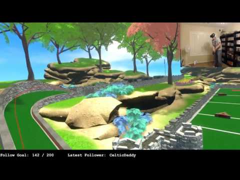 Cloudlands VR Mini Golf With The HTC Vive