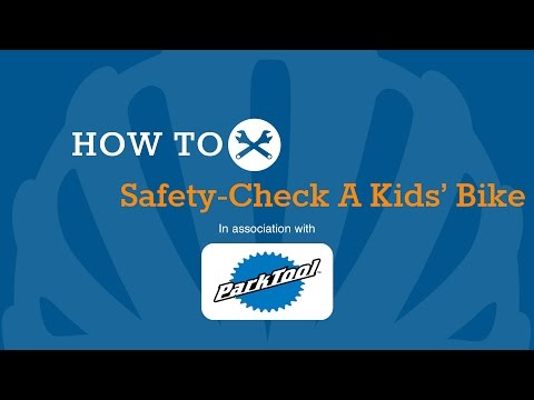 How To Safety-Check A Kids' Bike