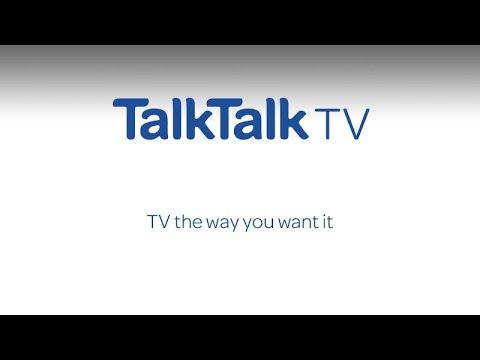 TalkTalk TV - TV the way you want it.