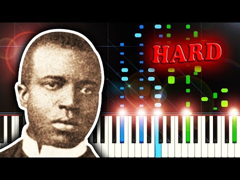 SCOTT JOPLIN - MAPLE LEAF RAG - Piano Tutorial