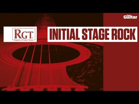 RGT Initial Stage Rock Syllabus -- Basic fretting (TG220)