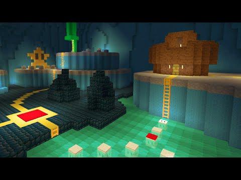 Minecraft Wii U - Super Mario Edition - Creepy Caverns [Part 4]