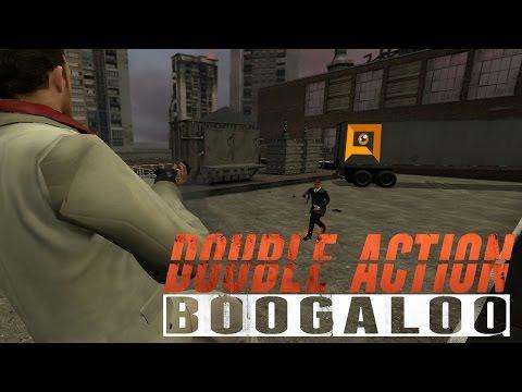 Double Action: Boogaloo - SLOW-MO DIVING BACKFLIP SHOTGUN TO THE FACE