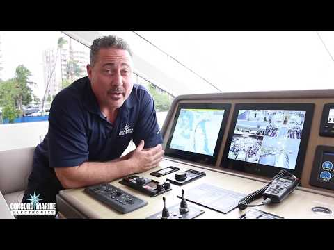 Yacht Security System Demo by Concord Marine Electronics