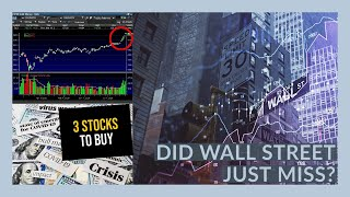 THE BIGGEST OPPORTUNITY FOR THE STOCK MARKET RIGHT NOW! - My Watchlist - 3 STOCKS TO BUY!
