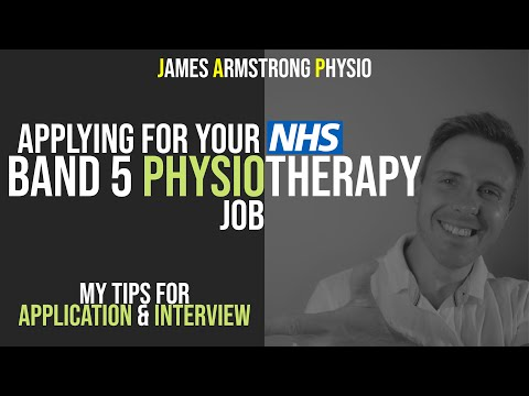 Applying For Your First Band 5 Physiotherapy Job Application & Interview