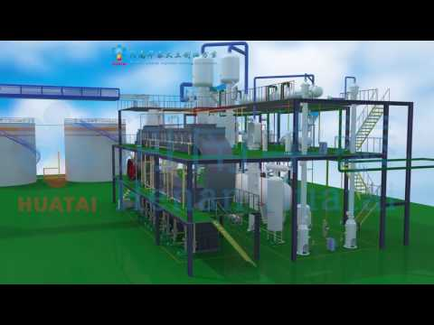 30-5000T/D Soybean Oil Processing Machine Medium Size