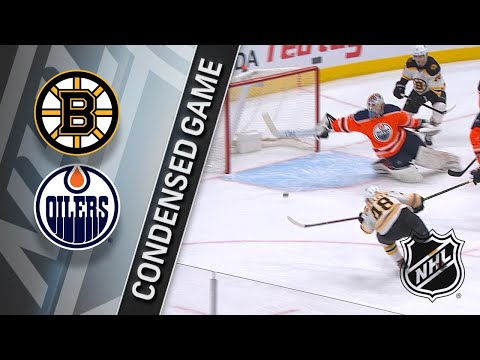 02/20/18 Condensed Game: Bruins @ Oilers