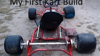 My First Go Kart Build - Part 3 - Primer/Paint (BMI BUILD)