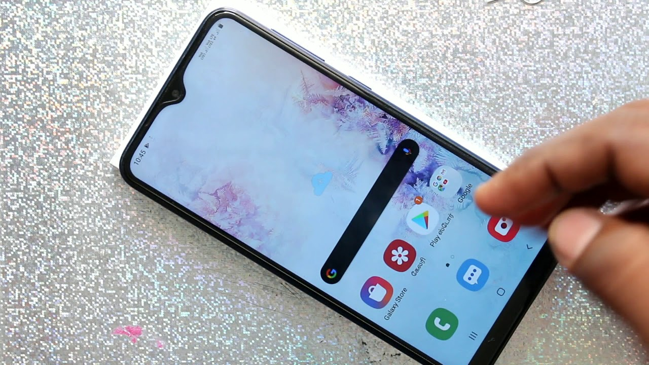 How to change language in Samsung Galaxy A10