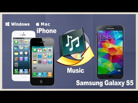 [Music to Galaxy S6, S5]: How to Sync Music from iPhone to Samsung Galaxy S5, S6 Edge