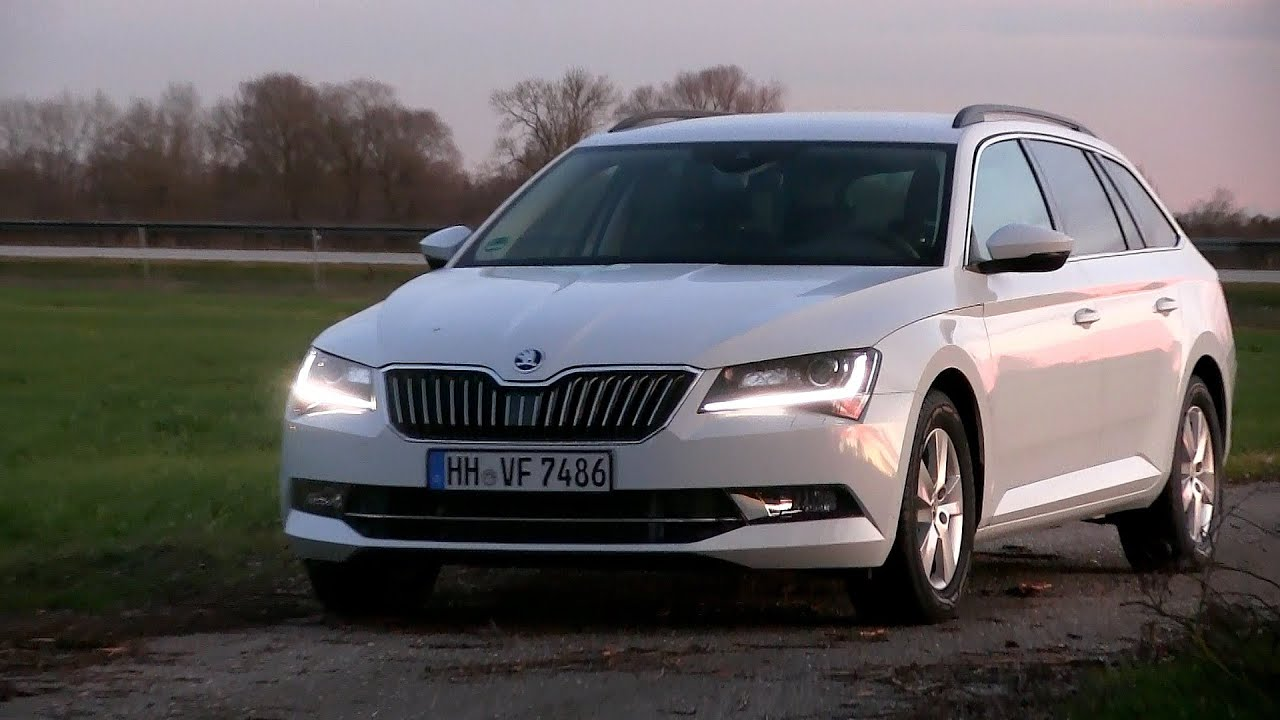skoda superb 2.0 tdi at тест обзор