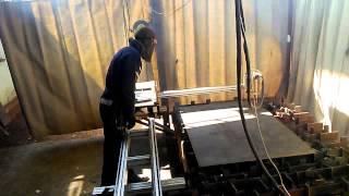 CNC (ЧПУ) установки, плазменным резаком(машина термической резки., 2015-05-03T20:41:42.000Z)