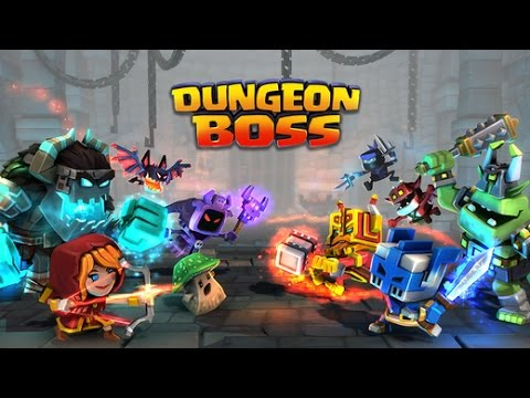 Dungeon Boss - Android IOS IPad IPhone App (By Big Fish Games, Inc) Gameplay [HD+] #01