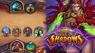 Lackeys Win Games! Rise of Shadows Rogue Gameplay [Hearthstone]