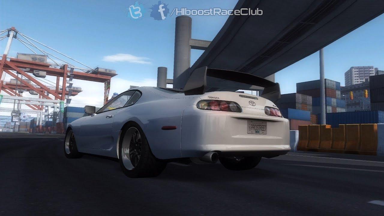 Need for speed prostreet ps3 test passes w turbo civic supra tt viper hpf e46 more youtube