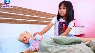 How to Take Care of a Doll with Kids Chikoo TV