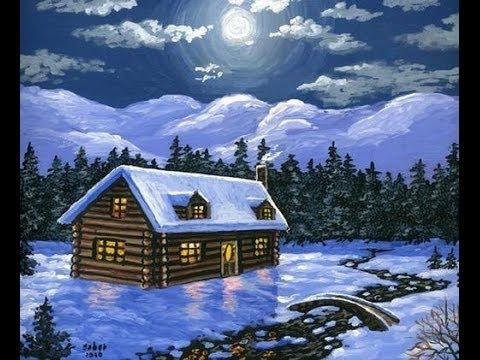 Come Dipingere 1 Cartolina Di Natale Con Acrilici