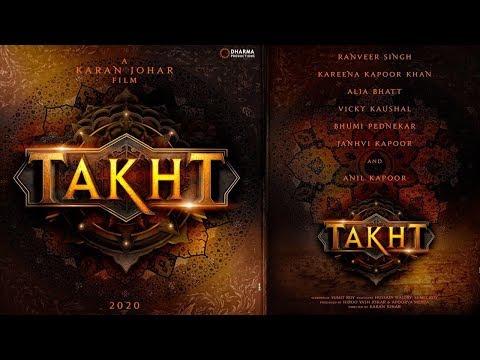 Karan Johar's Takht | Ranveer Singh, Kareena Kapoor, Alia Bhatt, Janhvi Kapoor, Vicky Kaushal Mp3
