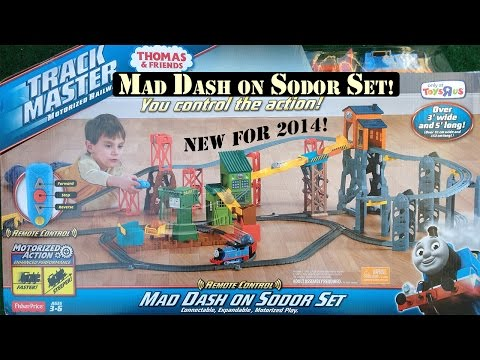 Thomas & Friends Trackmaster Mad Dash On Sodor Set New 2014 Assembling & Setup!