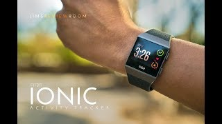 Fitbit Ionic GPS Fitness Tracker - REVIEW