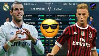 Real Madrid vs I Milan Elite Division | Dream League Soccer 2019