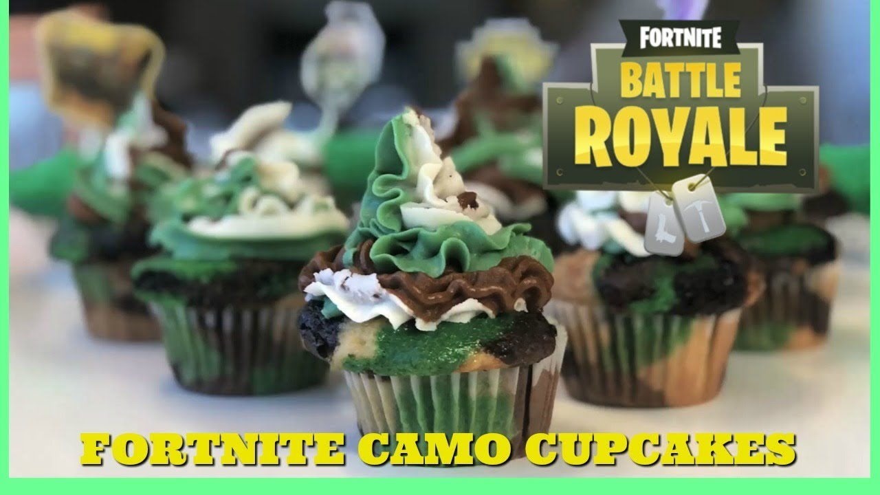 21 Amazing Fortnite Cakes And Cupcakes For An Epic Birthday