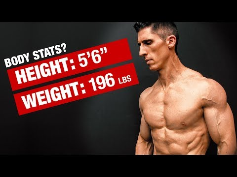 Jeff Cavaliere's Official Height, Weight, Body Fat (REVEALED!)