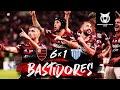 Flamengo 6 X 1 Avaí - Bastidores