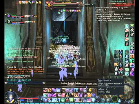 Aion Gelkmaros Crimson Temple Fortress Vulnerable