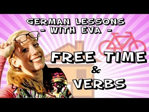German lesson 17 - Speaking about free time, the german verbs