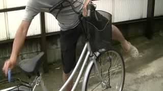 Repeat youtube video 自転車のハンドルの高さを調節する