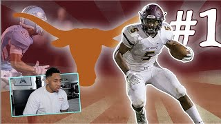 Reacting To The #1 High School Football Player In The Nation!