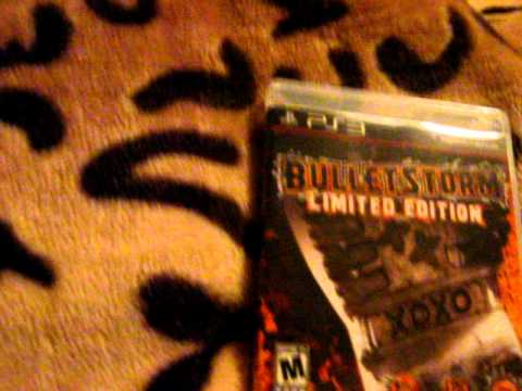 Bulletstorm Limited Edition Ps3 (Quicker Review)