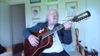12-string Guitar: Blue Moon (Including lyrics and chords)