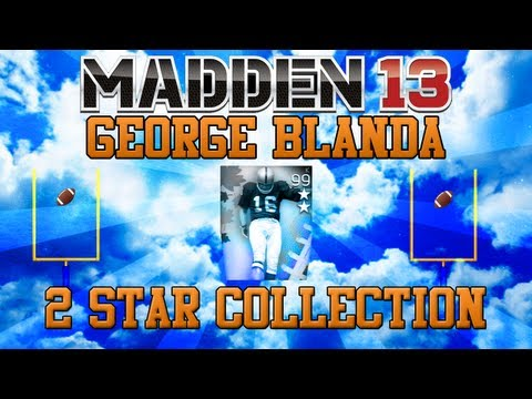 MUT 13: George Blanda 2 Star Collection | Giveaway Date Announced!