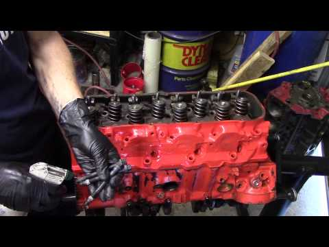 Chevy 396 Engine Build