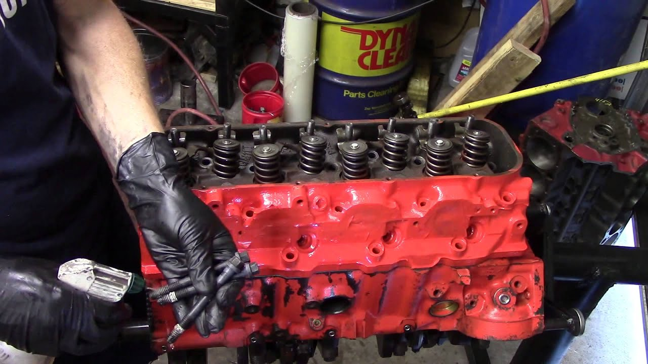Chevy 396 Engine Build  YouTube