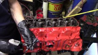 Chevy 396 Engine Build