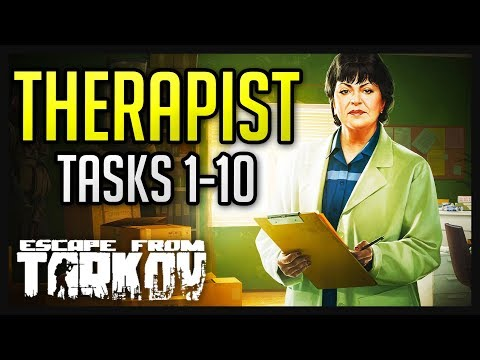 Therapist Tasks (1-10) Complete Guide - Escape from Tarkov