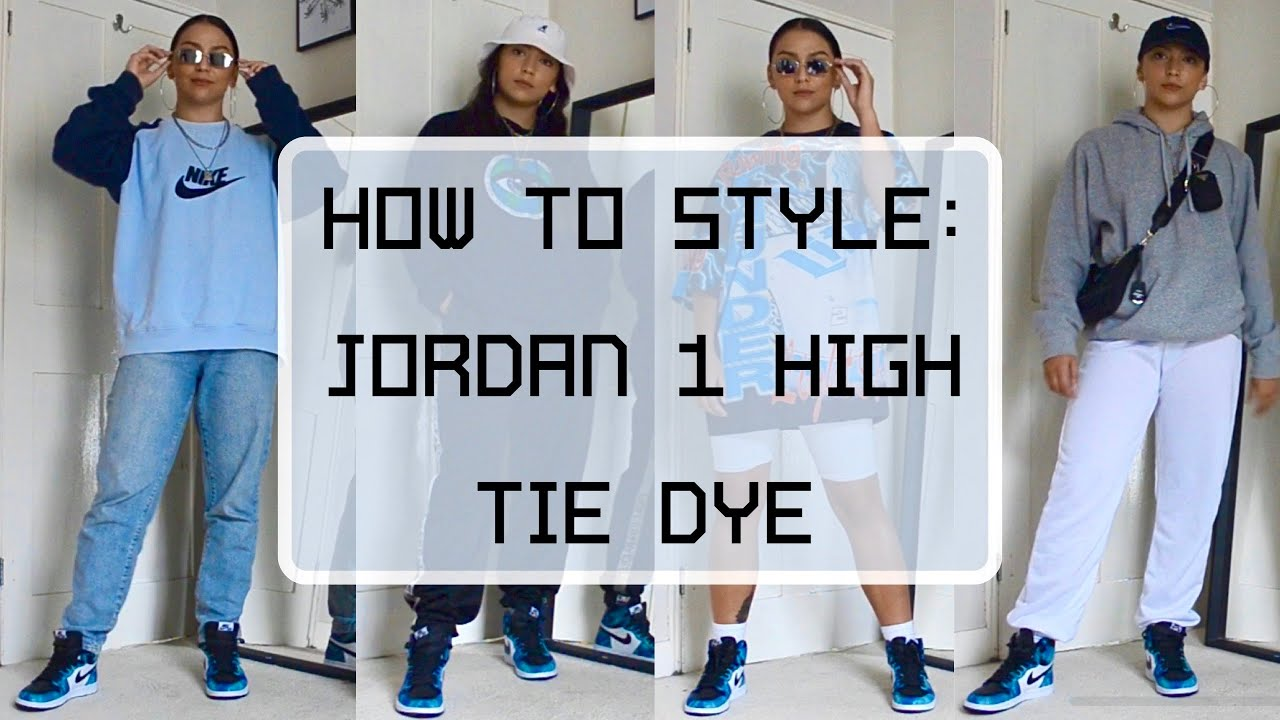 jordan 1 tie dye outfit