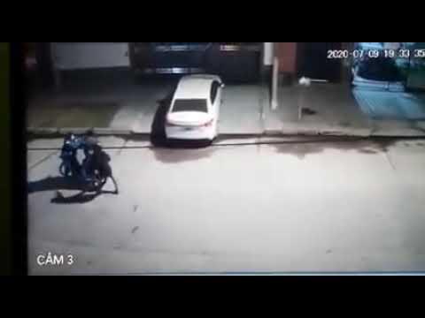 Tucumán: un hombre enfrentó a motochorros para que no le robaran su moto