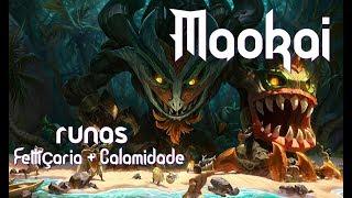 League of legends - Maokai - Runa de Feitiçaria: A Calamidade