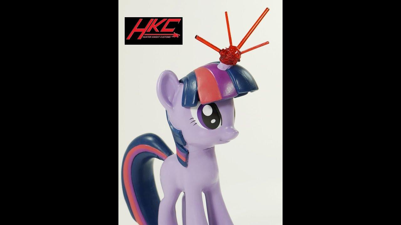 custom twilight sparkle no wings my little pony funko vinyl 6 inch
