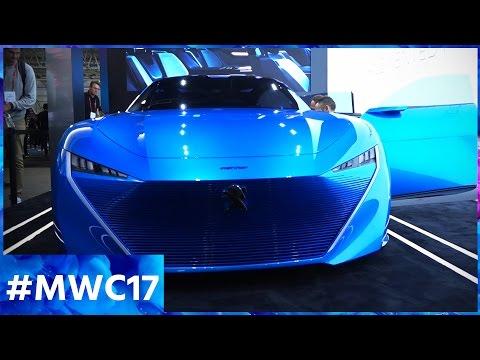 Avec Instinct concept, Peugeot dépasse le concept de l'auto ! MWC 2017