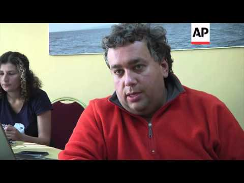 Greenpeace activists dismiss charges against them in wake of their protest in the Pechora Sea